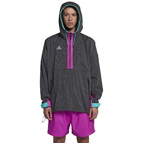 - Nike Lab ACG Men's Jacket (Anthracite/Hyper Magenta/Hyper Jade/Barely Volt, X-Large)