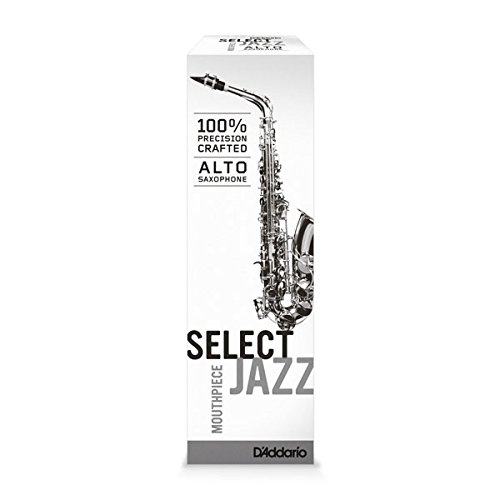 D'Addario Select Jazz Alto Saxophone Mouthpiece, D7M by D'Addario Woodwinds (Image #4)