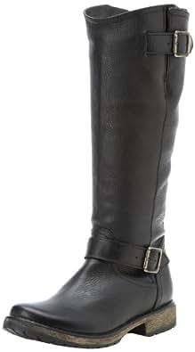 Steve Madden Women's Fairmont Knee-High Boot,Black Leather,5.5 M US