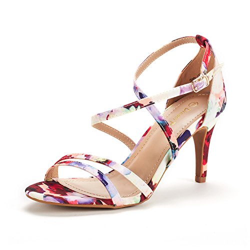Floral Metallic Sandals - DREAM PAIRS Women's Gigi Floral