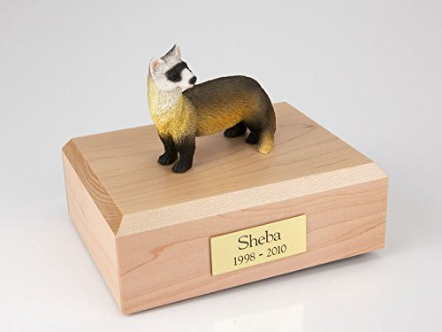 Ever My Pet Ferret Figurine Urn Small