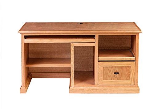 Forest Designs Mission Desk: 60W X 30H X 24D Merlot Oak
