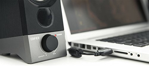 Edifier R19U Compact 2.0 Speakers Powered by USB Supports Windows 10 and Mac OS X 10.12 Sierra by Edifier (Image #5)