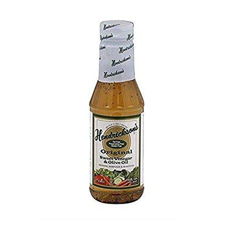 (Hendrickson's, Inc Dressing, Fat Free,Sweet Vinegar and Olive Oil, 16-Ounce)