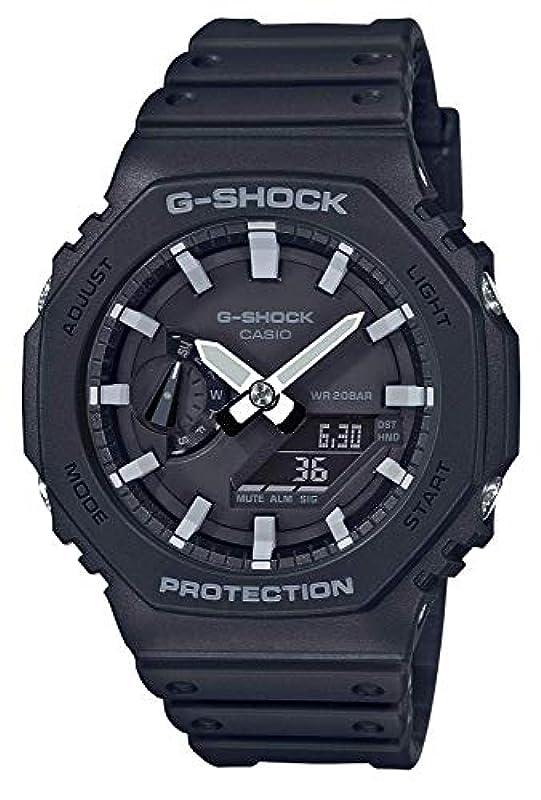 CASIO G-SHOCK G 시계 카본 코어 가드 GA-2100-1AER (GA-2100-1AJF)
