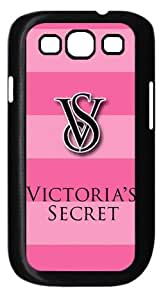 Victoria's Secret Pink HD image case cover for Samsung Galaxy S3 I9300 black A Nice Present