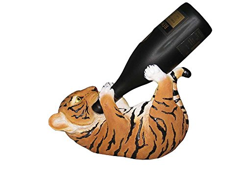 DWK Corporation DWKHD23228 Orange Tiger Wine Holder (Set of 1) (Tiger Wine Bottle Holder)