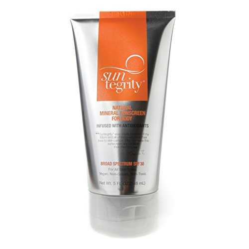 Suntegrity Skincare - Natural Mineral Sunscreen For Body - 5 oz