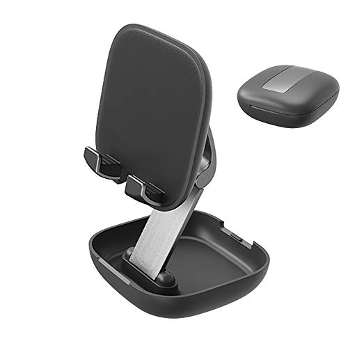AILAMEY Cell Phone Stand, Fully Foldable Phone Dock, Mini Adjustable Desktop Phone Holder Cradle Dock Compatible with…