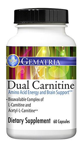 Gematria - Dual Carnitine - 625 mg, 60 Capsules by Gematria Products, Inc.