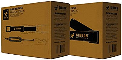 GIBBON Slacklines Slow Release Trickline Equipment Black