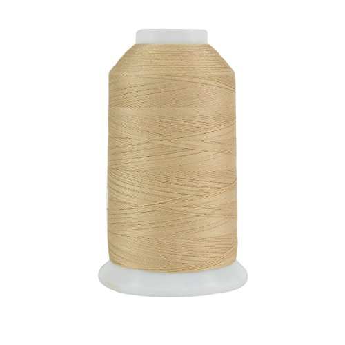 Superior Threads 121029XX973 Flax 3-Ply 40W King TUT Cotton Quilting Thread, 2000 yd