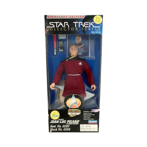 Starfleet Edition Star Trek Collector Series 9 Inch Captain Jean Luc Picard in Dress Uniform