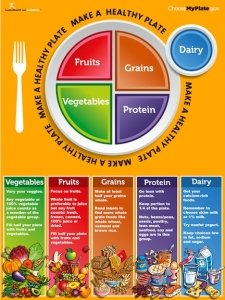 (Nutrition Education Store MyPlate Poster)