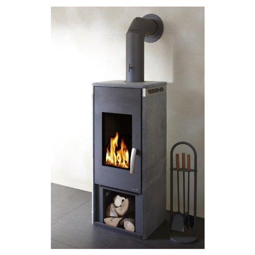 Eurotherm KA600063 chimenea 327 horno de leña horno de 7 KW horno ...