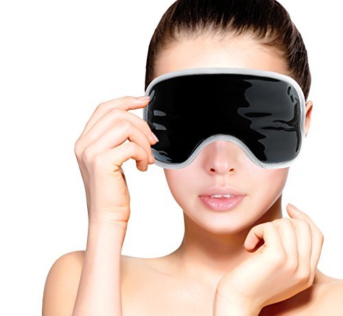 [FOMI Eye Mask. Cold Therapy. Migraine / Headache Relief. Reduce Eye Puffiness and Dark Circles. Clay Cold Therapy Perfect for Small Bumps/Bruises as well. Natural Moldable Clay. Ultimate] (Plastic Surgery Costume Makeup)