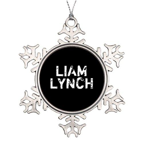 Darlingz Wedding Tree Decorations Lynchland LIAM LYNCH PIN Custom Christmas Tree Snowflake Ornaments