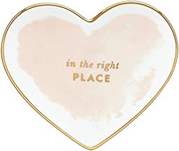 kate spade new york Posy Court Small Heart Dish - Blush