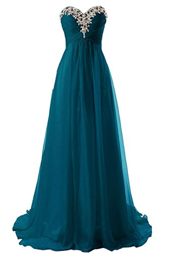 JAEDEN Sweetheart Formal Evening Dresses Strapless Long Prom Gown Bridesmaid Dress Jade US26W
