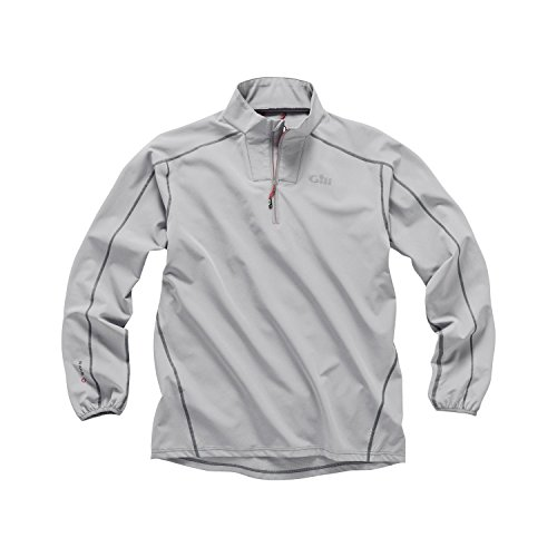 Race Smock - Gill Race Softshell Smock, Color: Grey, Size: L (Rs05gl)