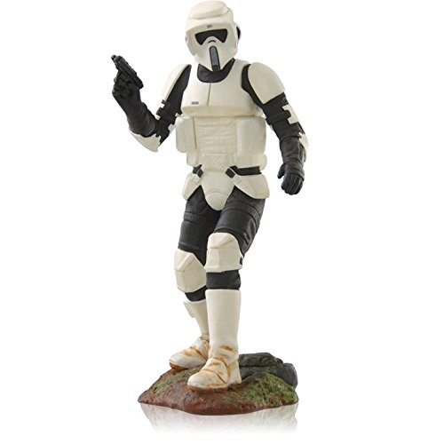 Hallmark Keepsake Ornaments 2014 QX9186 Scout Trooper #18