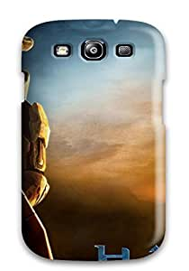 FvCRLUN7396xRMQf Anti-scratch Case Cover CaseyKBrown Protective Halo 3 Game Case For Galaxy S3