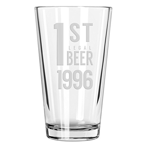 National Etching 1st Legal Beer pint glass (1996)