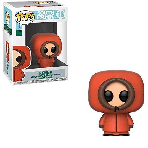 Funko Kenny: South Park x POP! Vinyl Figure & 1 POP! Compatible PET Plastic Graphical Protector Bundle [#016 / 32860 - B]