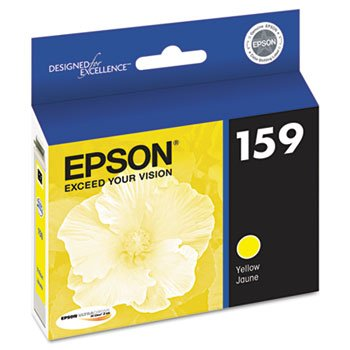 OEM Epson 159 (T159420) Yellow UltraChrome Hi-Gloss 2 Ink Cartridge
