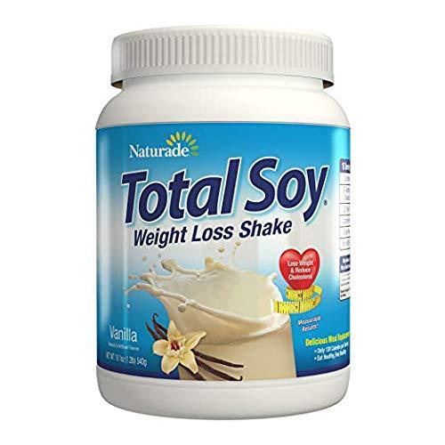 Naturade, Total Soy, Weight Loss Shake, Vanilla, 2 Pack (19.1 oz (540 g)) Grain/Soy/Dairy/Free