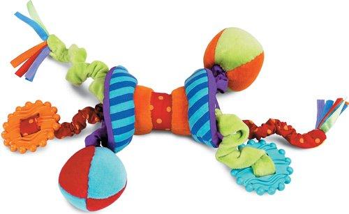 Manhattan Toy Ziggles Rattle and Teether Developmental Activity Toy