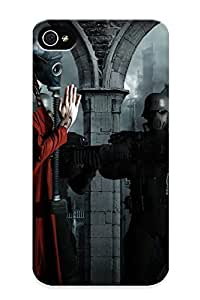 Creatingyourself Design High Quality Masked Soldiers Cover Case With Ellent Style For Iphone 4/4s(nice Gift For Christmas)