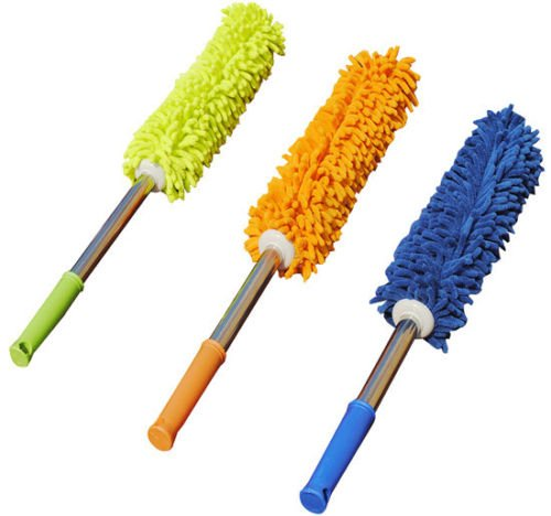 Handhold Cleaning Brush Dust Remover Microfiber Soft Chen...