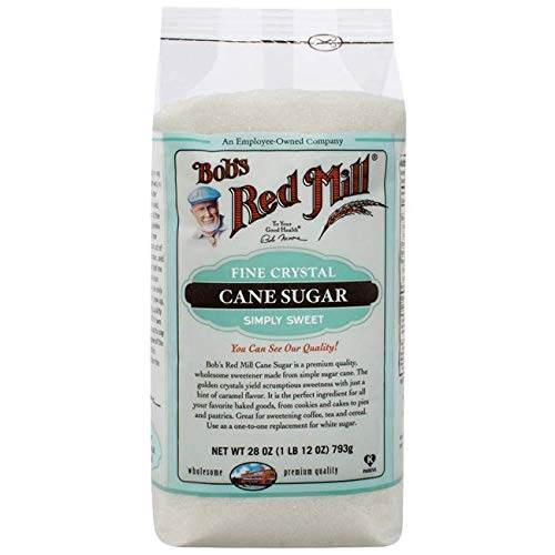 (One 28 oz Bob's Red Mill Evaporated Cane Juice Sugar)