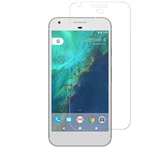 BONUM Google Pixel Xl Screen Protector, Scratch Proof Anti Fingerprint Easy to Install - 3 Piece