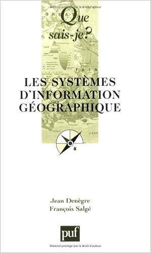 Livres gratuits en ligne Les Systèmes d'information géographique epub pdf