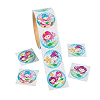 Fun Express Mermaid Stickers