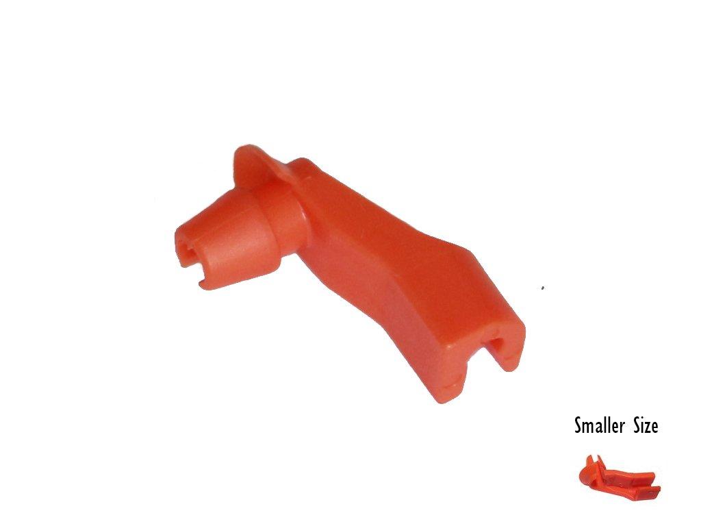 Door Lock Rod Clip in Orange fits Dodge Ram Models Compare to OE 4658445