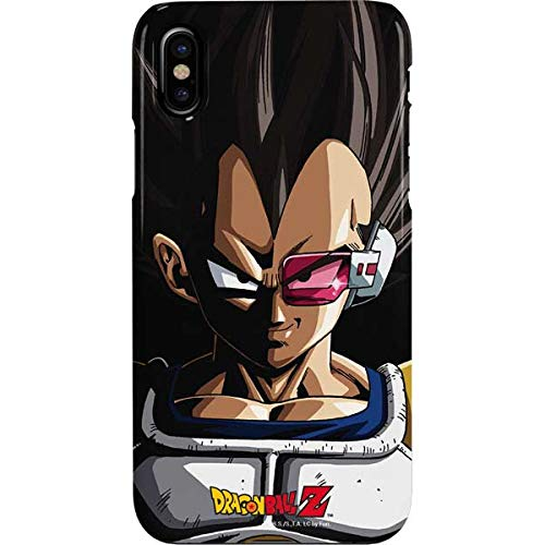 Amazon.com: Vegeta Portrait iPhone XS Case - Dragon Ball Z ...