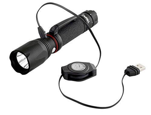 ASP Triad XT, USB Tactical Flashlight, Rechargeable 18650 Lithium-Ion battery, Bright Cree XPG2 LED, 530 Lumens, 3 output modes, Black by ASP (Image #3)