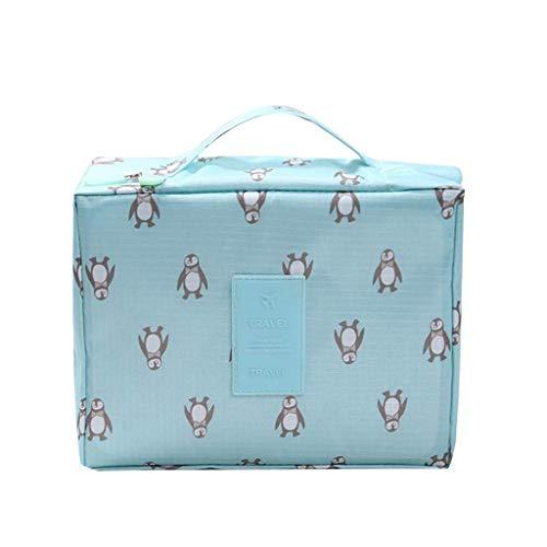 Lemoning , Makeup Storage Bag Travel Wash Bag Multi-Functional Cosmetics Bag -