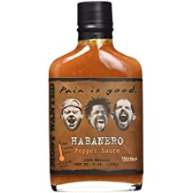 Pain Is Good Habanero Pepper Sauce, Hot, 7 Ounce