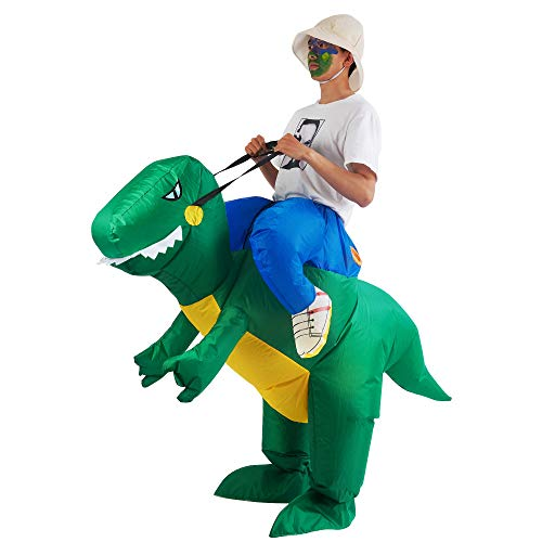 Lulu Home Inflatable Dinosaur T-REX Costume, Halloween Dinosaur Cosplay Costume Adult - http://coolthings.us