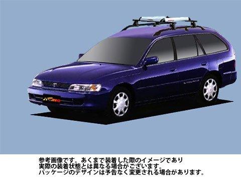 システムキャリア スプリンターワゴン 型式 AE100G AE101G AE104G RA4 ルーフ標準 1台分 タフレック TUFREQ B06XZZZLYW