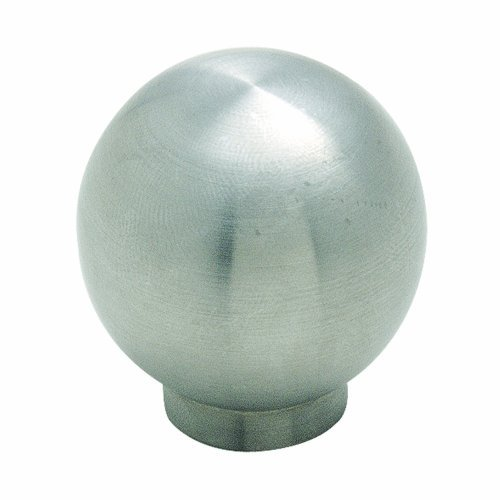 Amerock BP19007SS Essential'Z Stainless Steel 1-3/16in(30mm) DIA Knob - Stainless Steel by ()