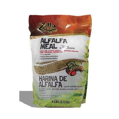 Alfalfa Meal for Reptiles [Set of 2] Size: 5 lbs by Zilla