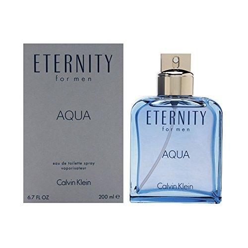 C K ETERNITY AQUA MEN by CK Eau De Toilette Spray 6.7 OZ.