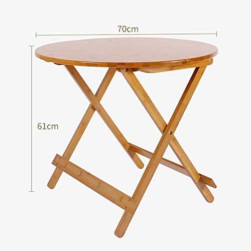 折り畳みテーブル 折りたたみテーブル小さなスナックテーブルホームディスカウント折りたたみ木製テレビディナーラップトップスナックテーブルラウンドテーブル 世帯