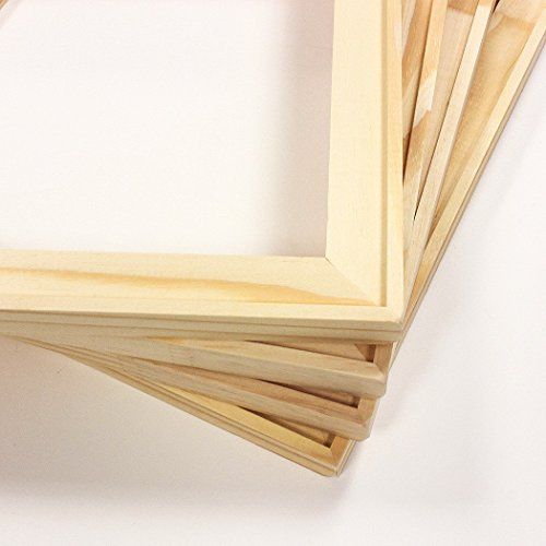 Set of Four 16x20 Joined Canvas Art Stretcher Bars Pine Wood Sanded Corners Artist Supply DIY
