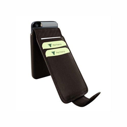 Piel Frama U599M iMagnum Ledertasche mit Magnetverschluss für Apple iPhone 5/5S braun